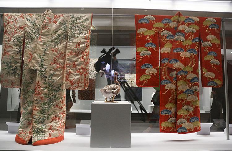 Two Kimonos | Kimono Exhibitions | from The Khalili Collections